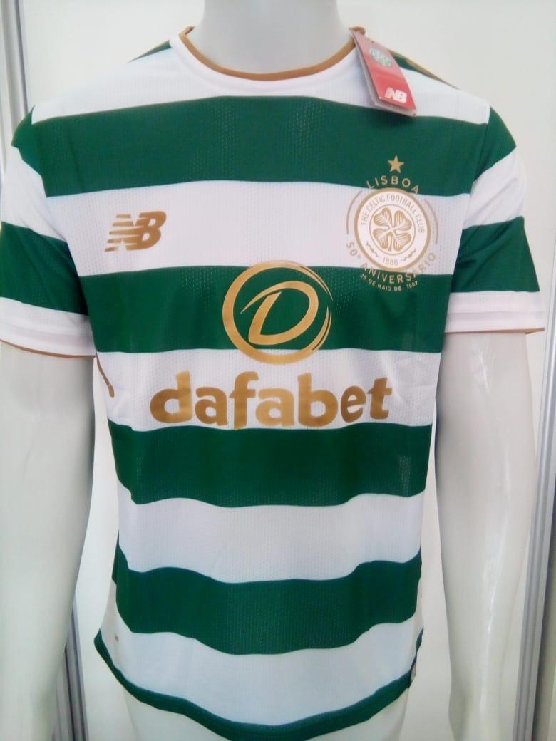 7eaca99611b08 Camisa New Balance Celtic Home 2018 S nº Torcedor Oficial - R  120 ...