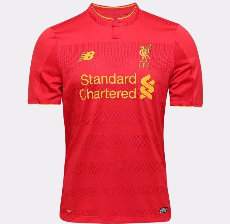 ecd9d3692d Camisa New Balance Liverpool Home 16/17 S/nº - R$ 89,99 em Mercado Livre