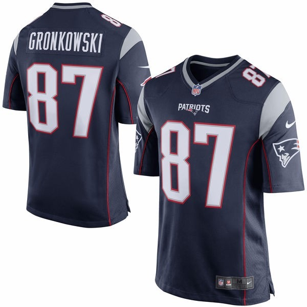 081f2823d Camisa New England Patriots Nfl - Gronkowski - R  177