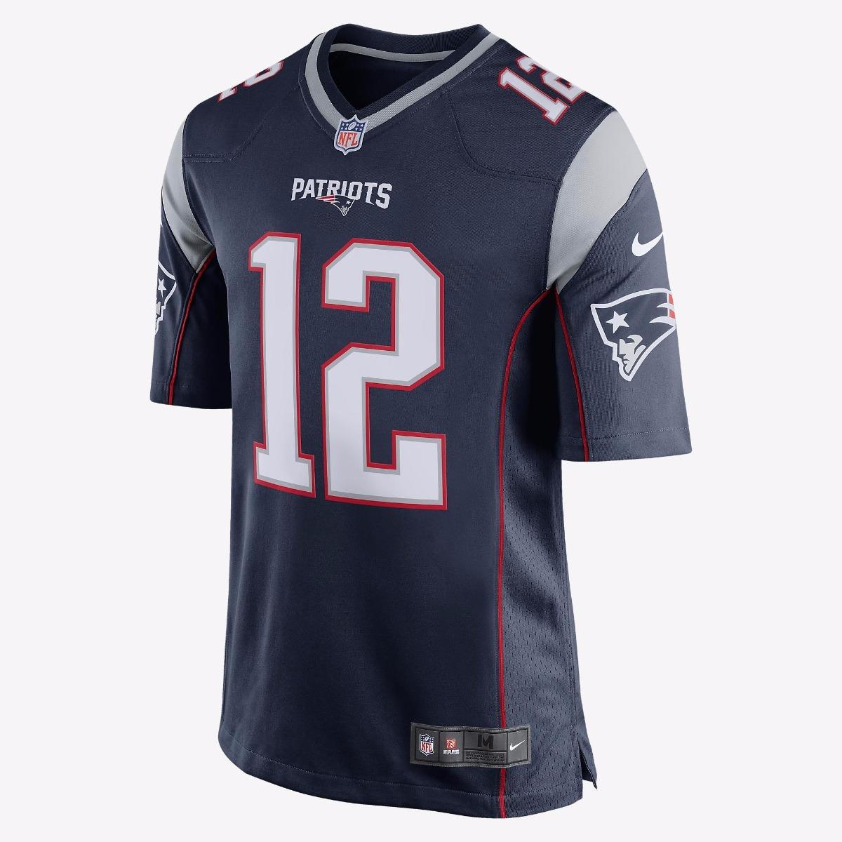 33b484f4e Camisa New England Patriots T. Brady  12 M Nfl Nike Original - R ...