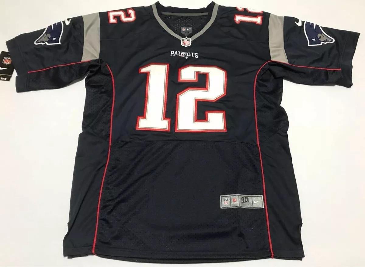99f153e47 Camisa New England Patriots Tom Brady 12 Pronta Entrega - R  189
