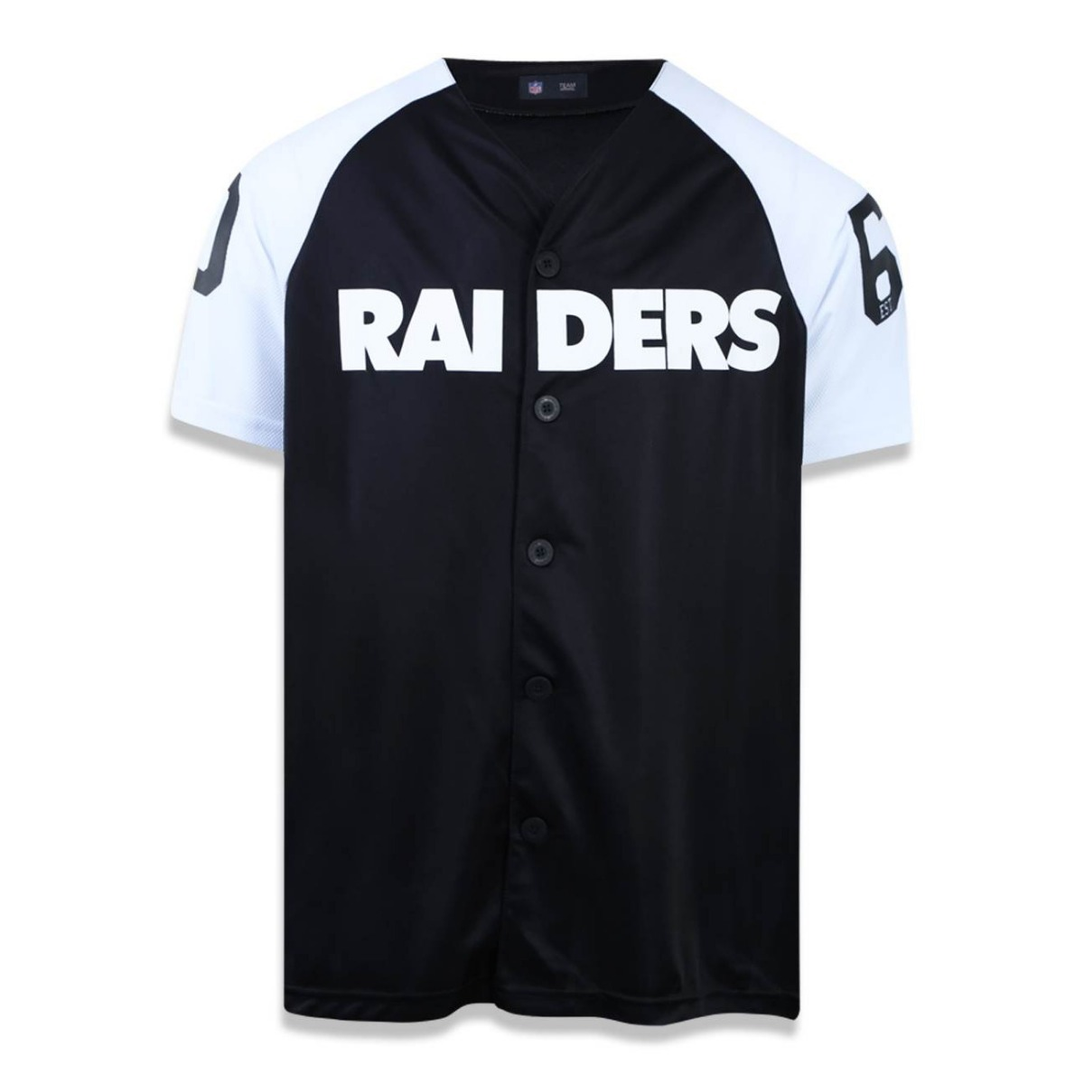 96887fd42 camisa new era oakland raiders preta original. Carregando zoom.