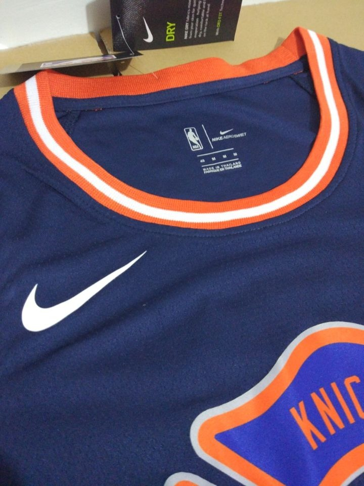 Camisa New York Knicks Porzingis Knox Nba 2018 Nike Basquete - R ... 9eb2a9c23