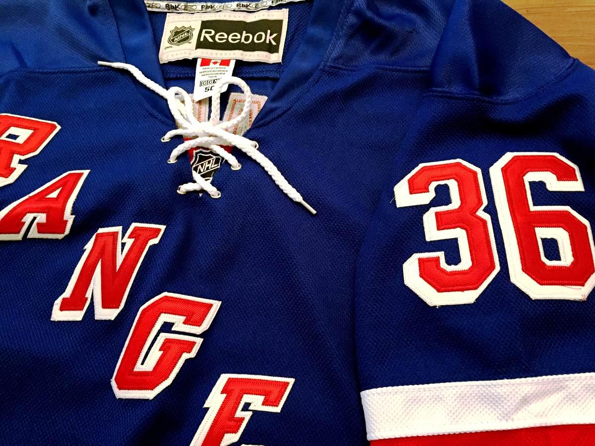 Camisa New York Rangers Mats Zuccarello Reebok Elite - R  319 9f0c38006a52d