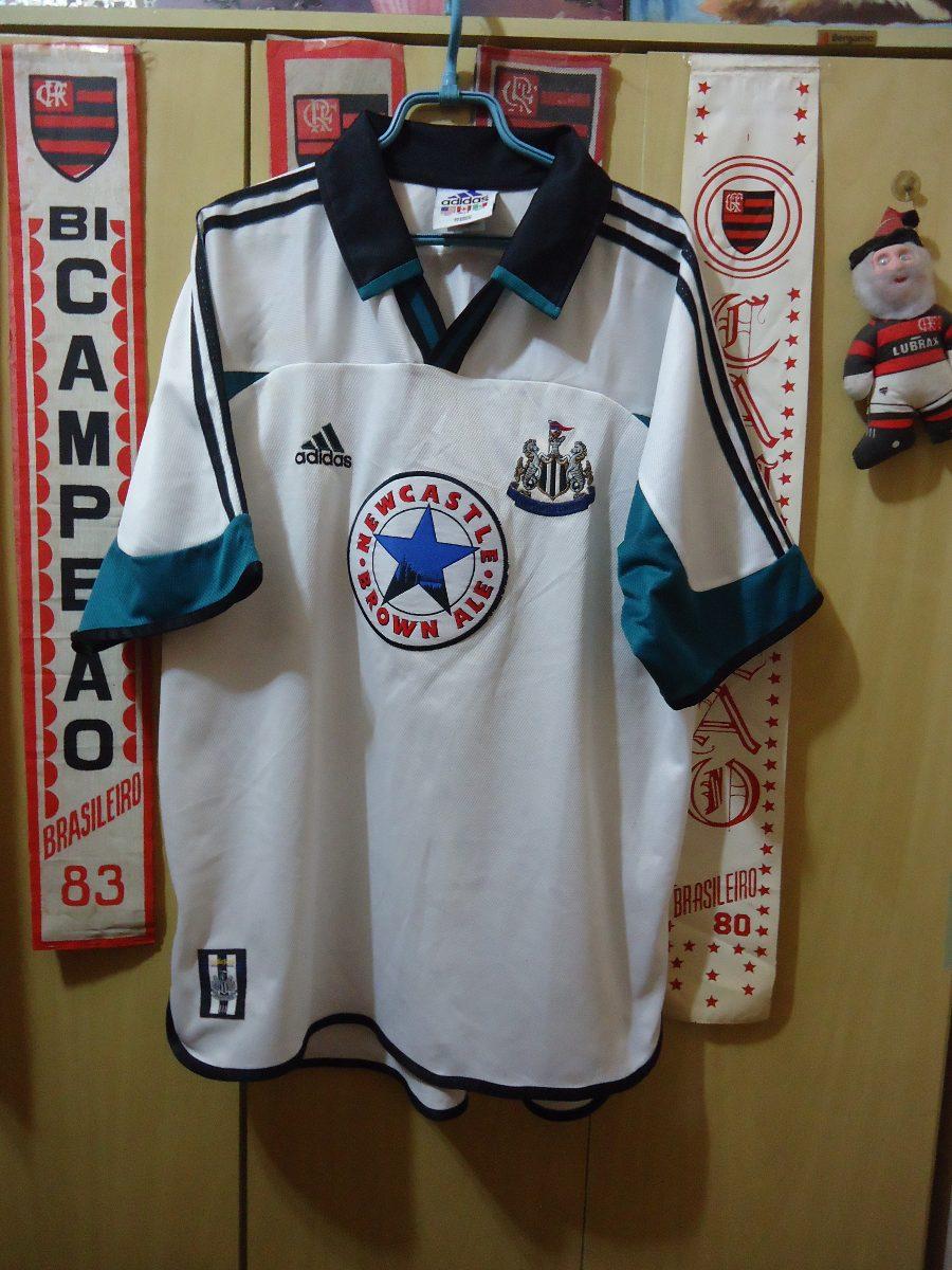 468337c0b5b60 Camisa Newcastle ( adidas   Made In England ) - R  145