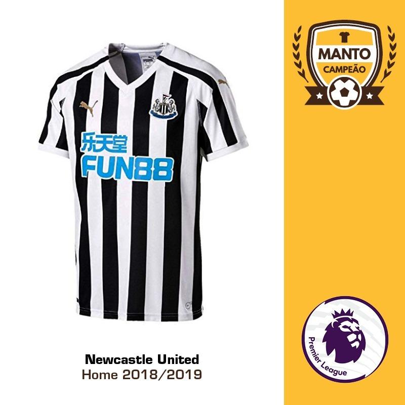 2af1c637ddac8 camisa newcastle united 2018 2019 home uniforme 1 shelvey. Carregando zoom.
