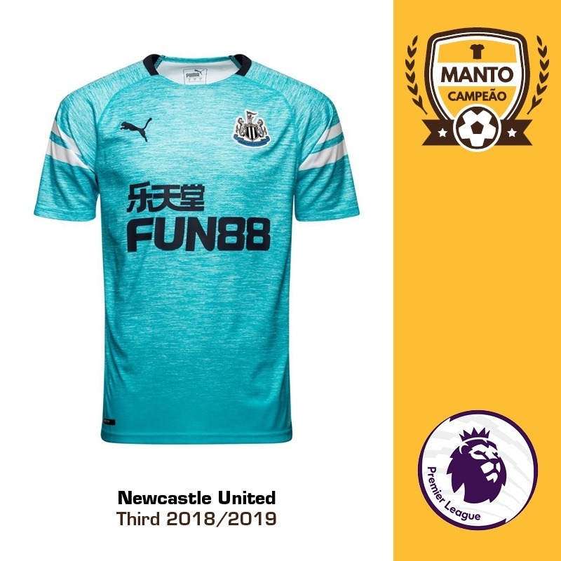 ab32edb883467 camisa newcastle united 2018 2019 third uniforme 3 shelvey. Carregando zoom.