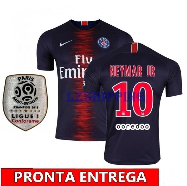82083dbd66 Camisa Neymar Psg Original 18 19 - Pronta Entrega ! - R  120