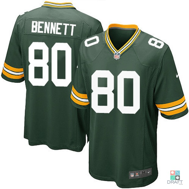 169ac1c267 Camisa Nfl Bennett Gb Packers Nike Game Jersey Draft Store - R  389 ...