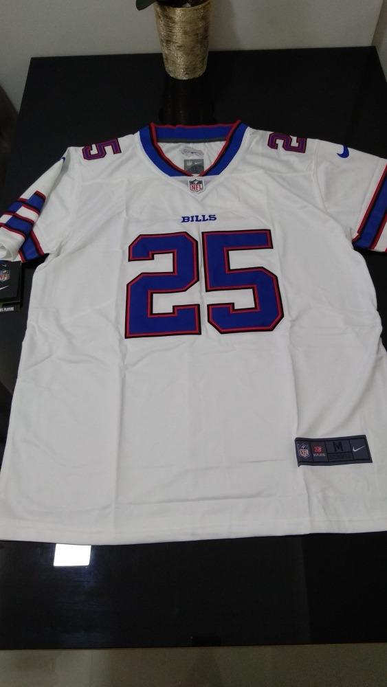 1fd0298c86326 Camisa Nfl Bills Réplica Futebol Americano Lesean Mccoy - R  149