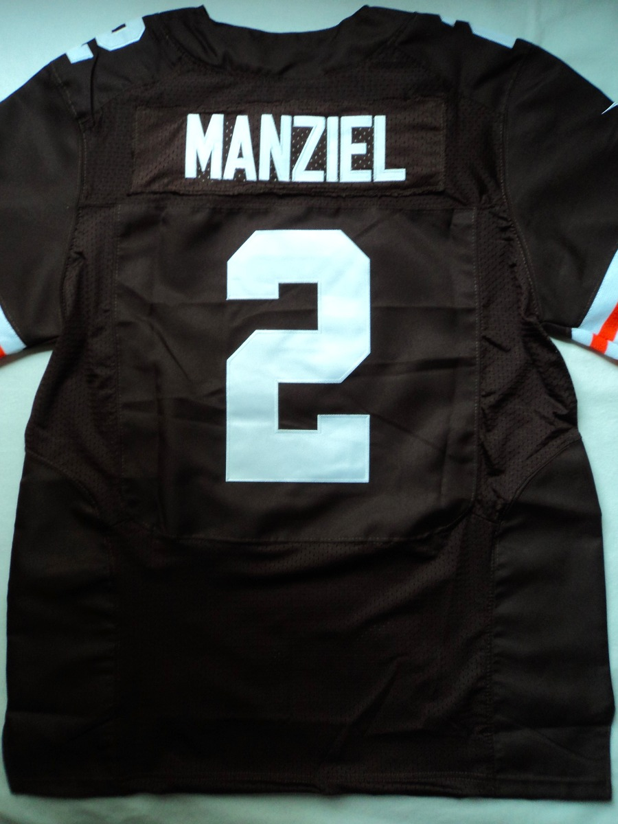 d56e04a418357 camisa nfl cleveland browns johnny manziel - 21sports. Carregando zoom.