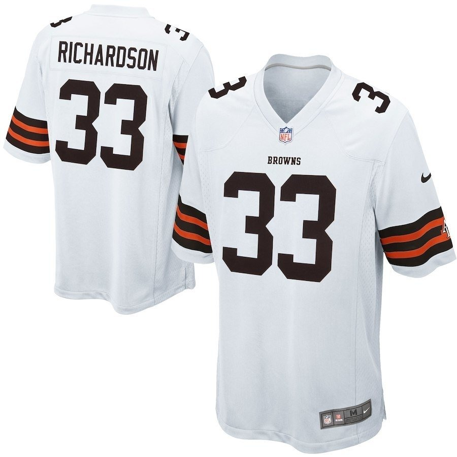 ee6f8ae854432 camisa nfl cleveland browns richardson nike youth draft stor. Carregando  zoom.