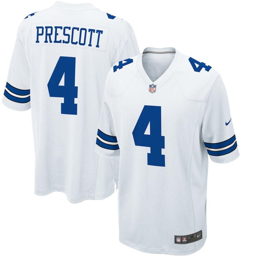 10cf321c2f camisa nfl dallas cowboys 3 futebol americano  4 prescott. Carregando zoom.