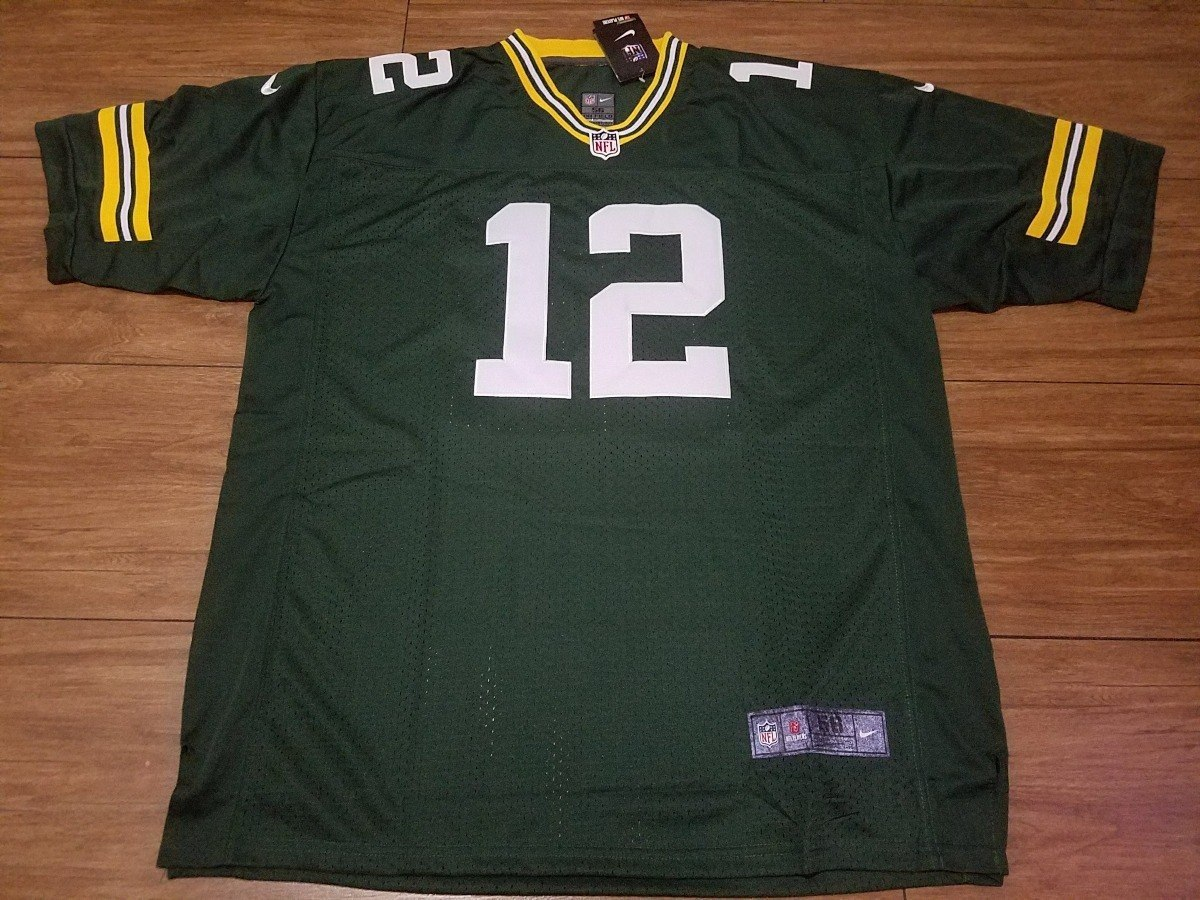6597d0bfe6 camisa nfl green bay packers aaron rodgers 12. Carregando zoom.