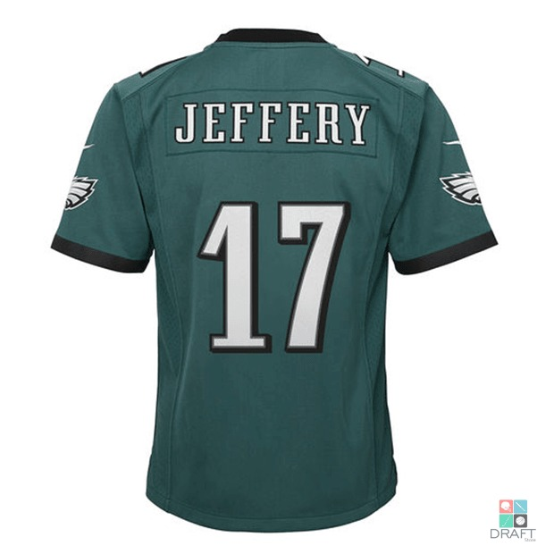 fbb638784a Camisa Nfl Jeffery Philadel Eagles Nike Youth Je Draft Store - R  370