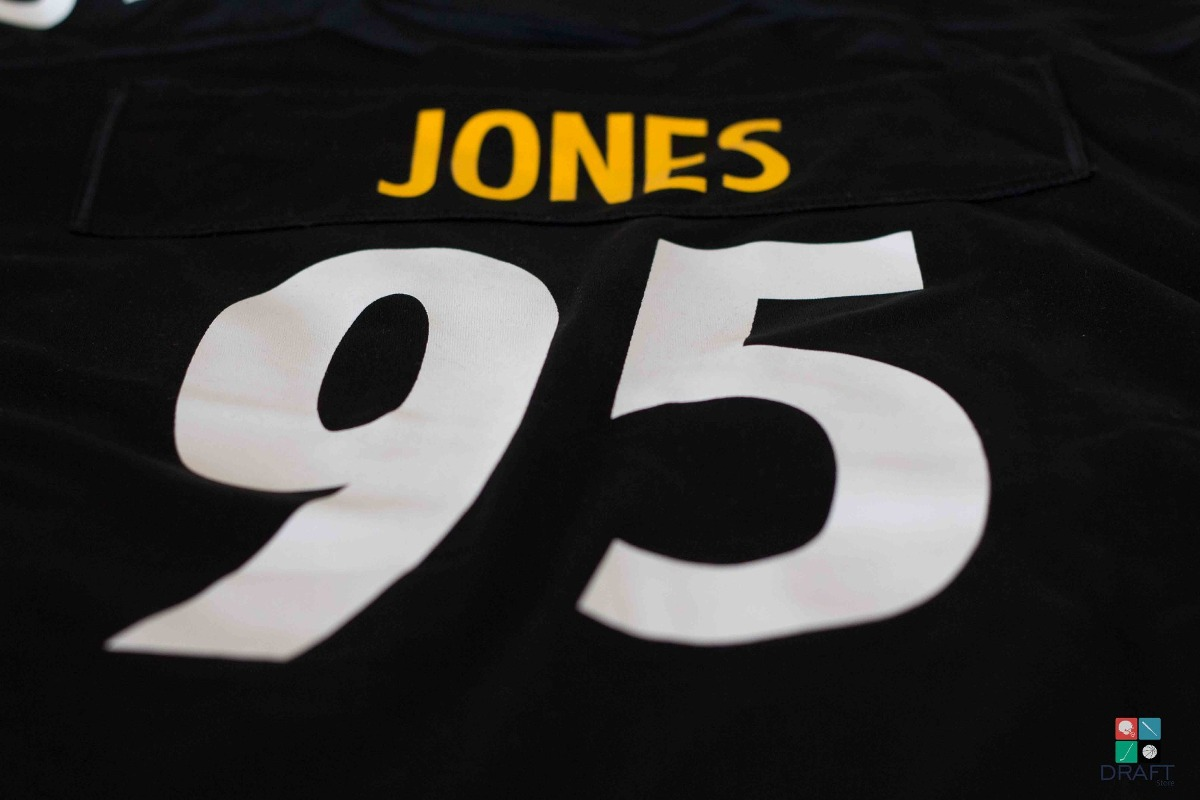 a9e46f578 camisa nfl jones pittsburgh steelers nike youth draft store. Carregando  zoom.
