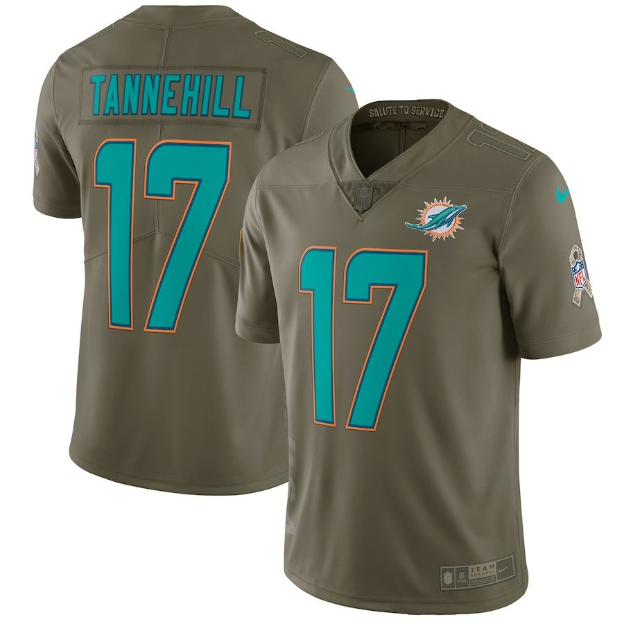 camisa nfl miami dolphins 5 futebol americano  17 tannehill. Carregando zoom . 2897771656fa9
