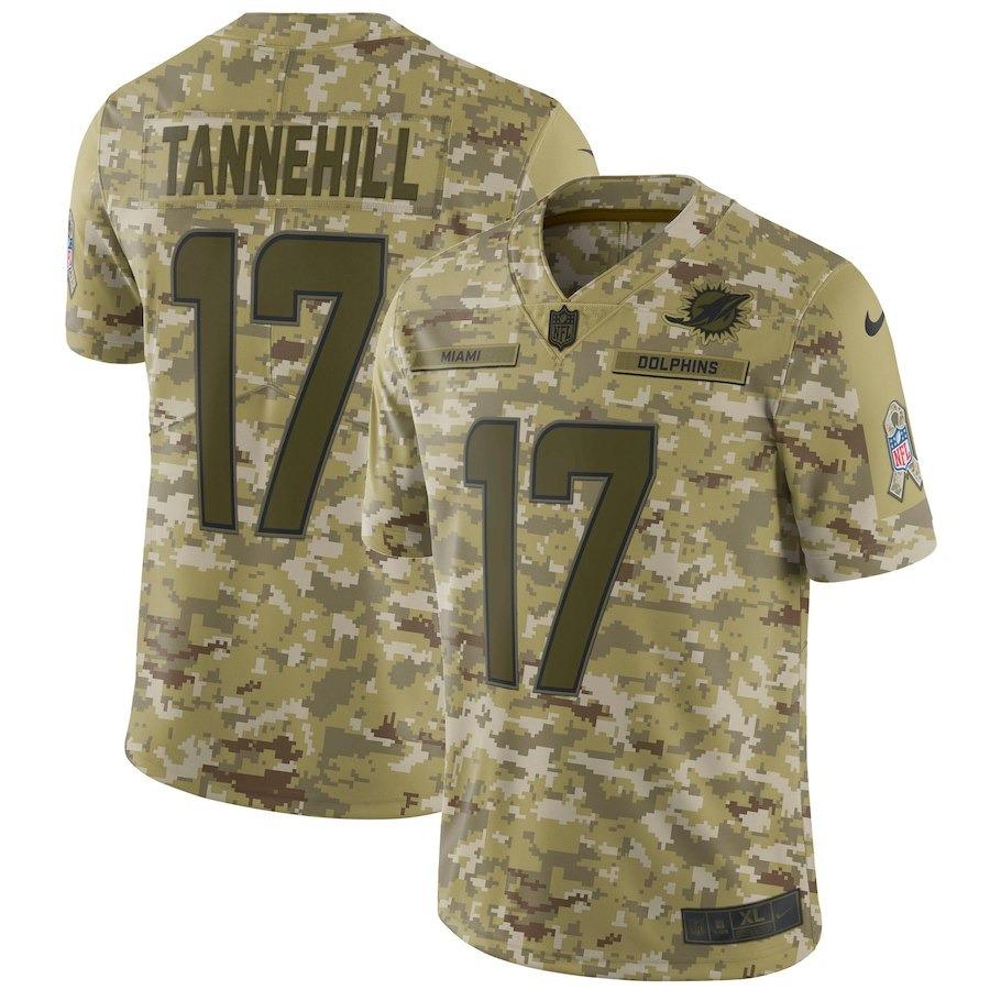 camisa nfl miami dolphins salute to service  17 tannehill. Carregando zoom. 6127b0cd6dd8b