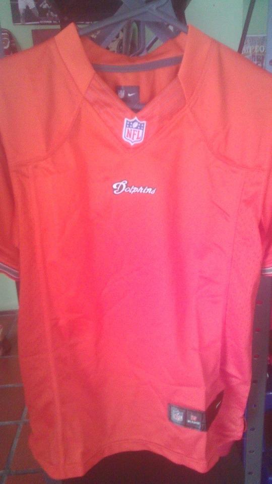 fb3d28c65 Camisa Nfl Miami Dolphins Talla Ss Sin Numero. -   60.000 en Mercado ...
