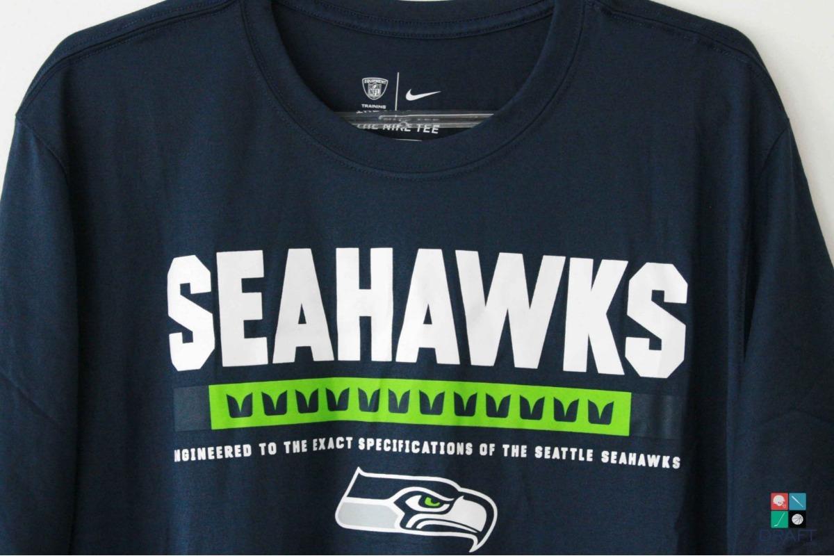 4ea0a2211284d camisa nfl nike seattle seahawks russell wilson draft store. Carregando zoom .
