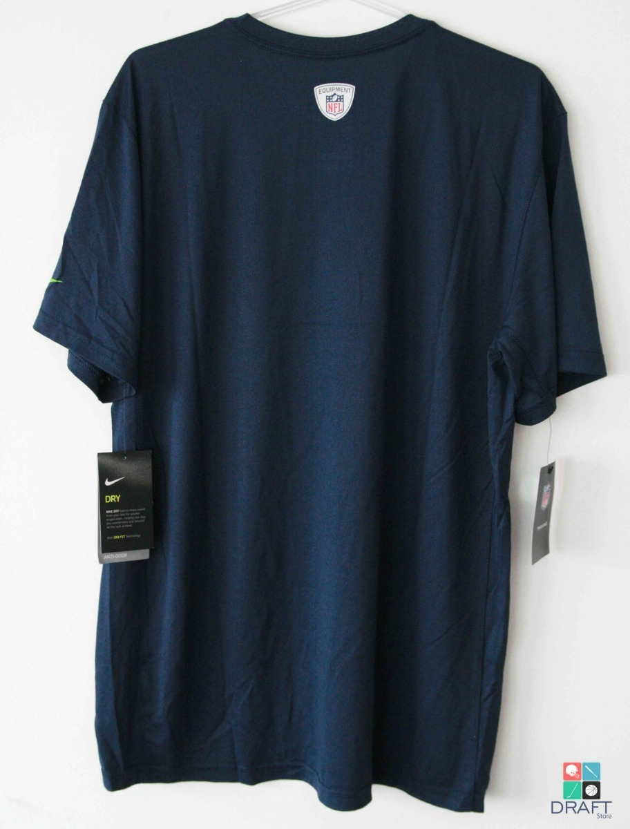 a3d5f9428 camisa nfl nike seattle seahawks russell wilson draft store. Carregando zoom .