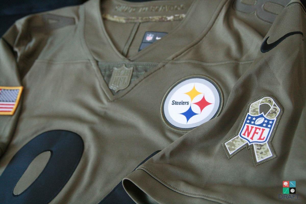 9e0dac05d camisa nfl pittsburgh steelers brown salute exer draft store. Carregando  zoom.