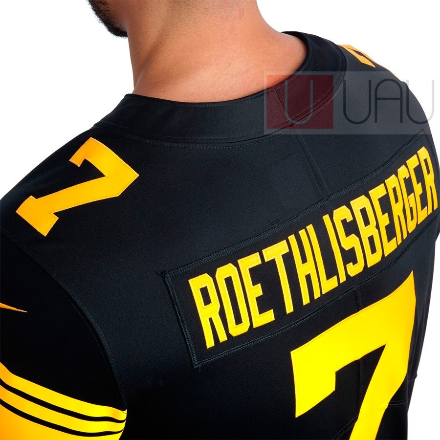 1e76721aa3 camisa nfl pittsburgh steelers roethlisberger  7. Carregando zoom.
