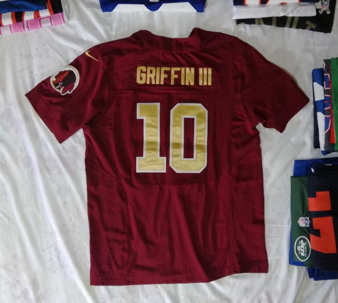 7ff1422fee051 Camisa redskins jersey nike original griffin iii jpg 1110x995 Camiseta nfl  redskins