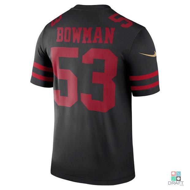 57ad36d874f78 Camisa Nfl San Francisco 49ers Bowman Nike Game Draft Store - R  398 ...