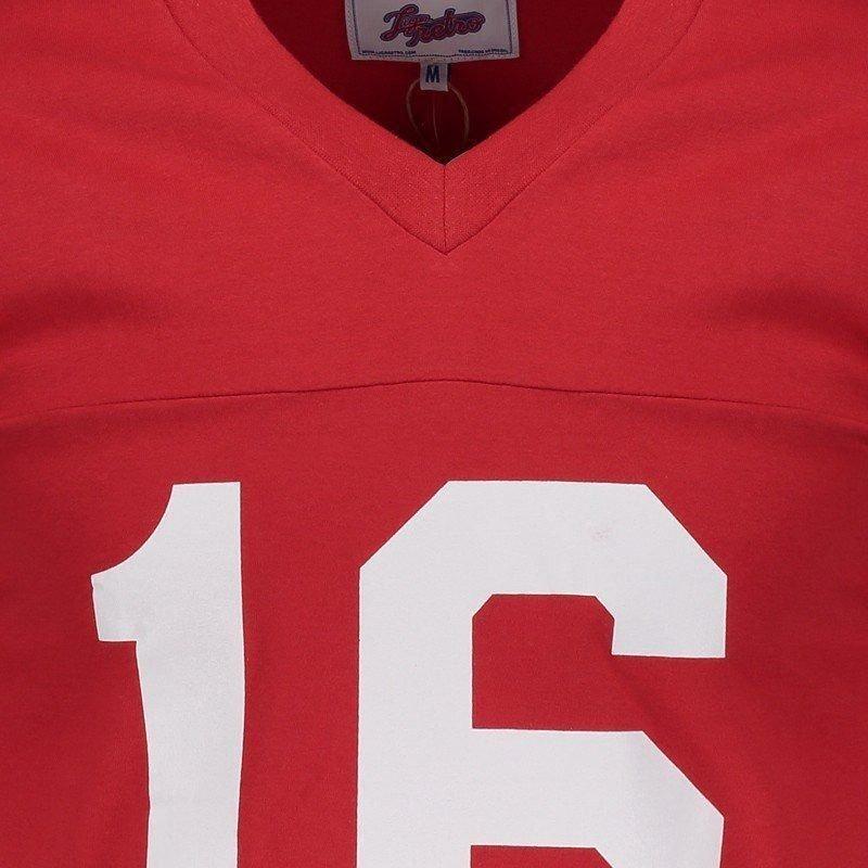 camisa nfl san francisco 49ers retrô. Carregando zoom. 8fb81058ae8