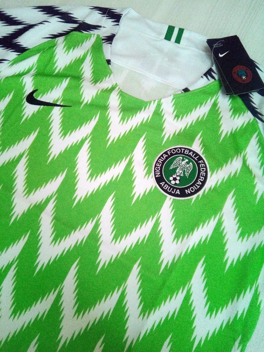 cb196852cc Camisa Nigéria 2018 Copa Do Mundo Original Importada - R  154