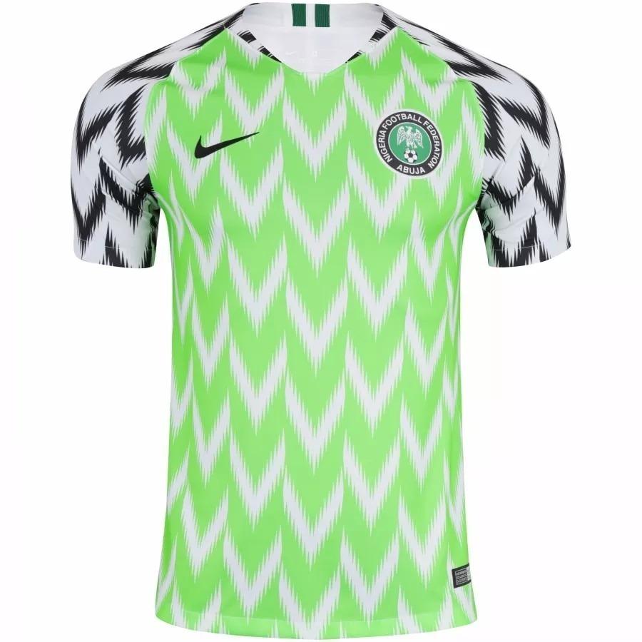 camisa nigéria 2018 oficial copa do mundo - pronta entrega. Carregando zoom. 1dc7a644da2b1