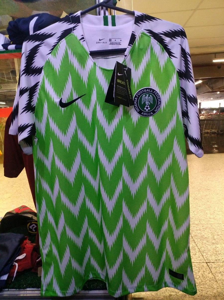 Camisa Nigeria Copa 2018 Oficial Novas A Pronta Entrega - R  140 406b9204c83fd
