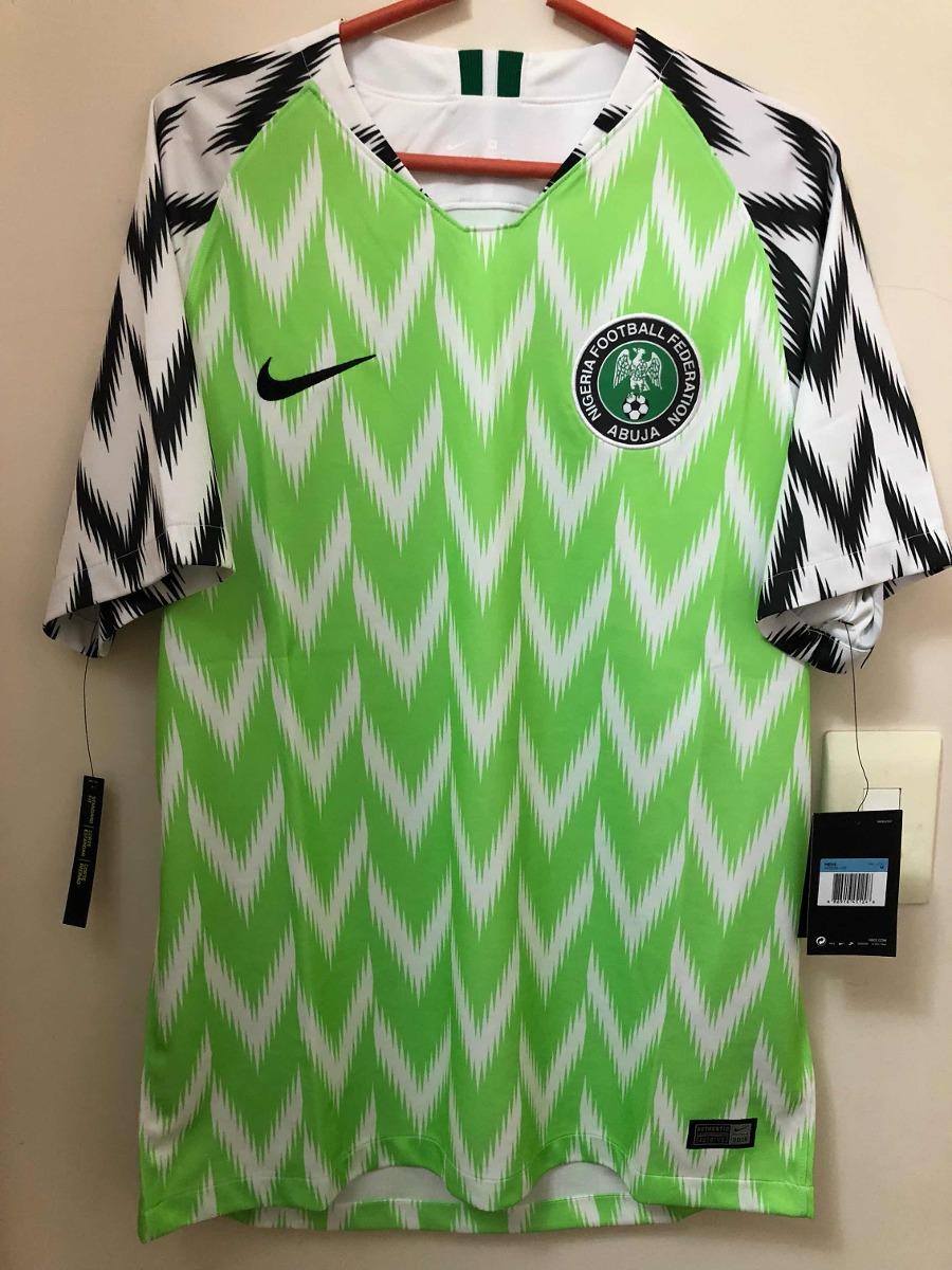4dde62317e835 camisa nigeria copa do mundo 2018 - única peça tamanho m. Carregando zoom.