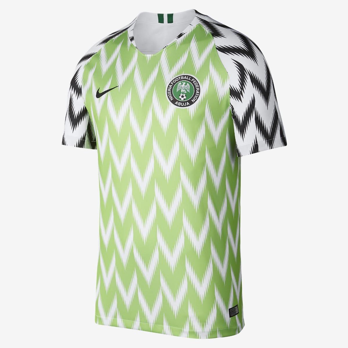 d21bda8f2a Camisa Nigéria Nike Original Oficial 2018 Pronta Entrega - R  129