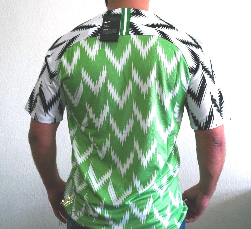 Camisa Nigéria Oficial Copa 2018 Original Pronta Entrega - R  159 ac87d8d5b6642