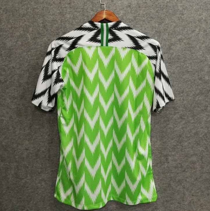 Camisa Nigéria - Uniforme 1 Copa 2018 Original - R  135 501060f2df8