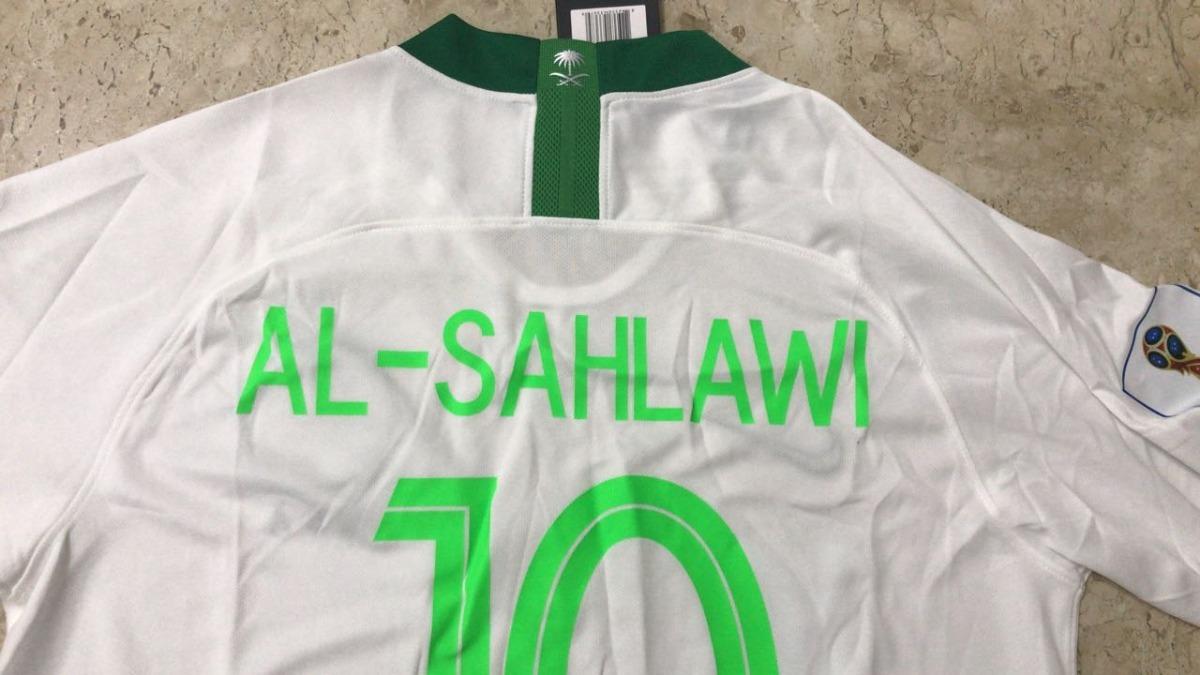 9db42a7f7 camisa nike arábia saudita 2018 - 2019 - pronta entrega! Carregando zoom.