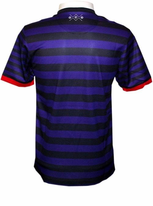 Camisa Nike Arsenal Ii 2013 Azul-preto S nº - R  180 11e75a2c675ae