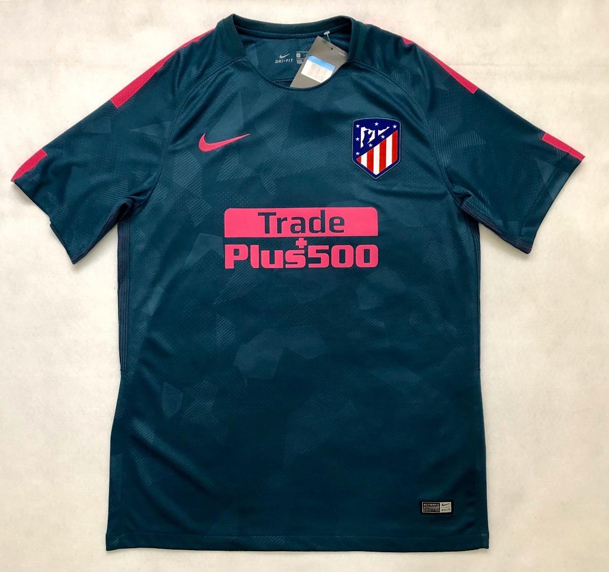 Camisa Nike Atletico De Madrid Oficial 2018 3rd P. Entrega - R  129 ... 39b89c35de74b
