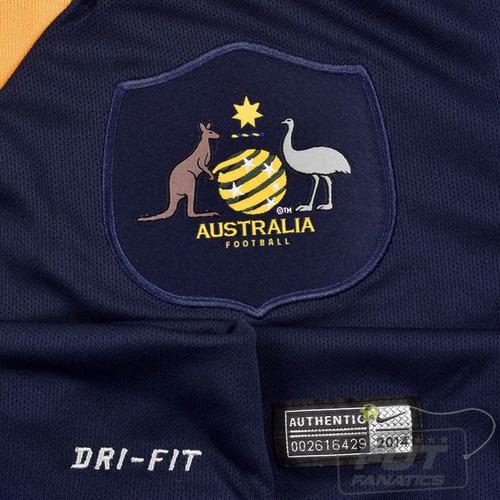 Camisa Nike Australia Away 2014 Cahill 4 - Futfanatics - R  199 faf086dc6b571