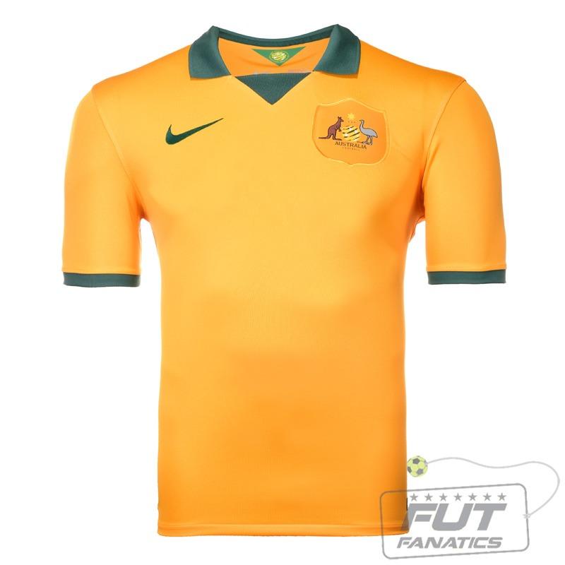 camisa nike austrália home 2014 - futfanatics. Carregando zoom. bce4c5cedf0ea