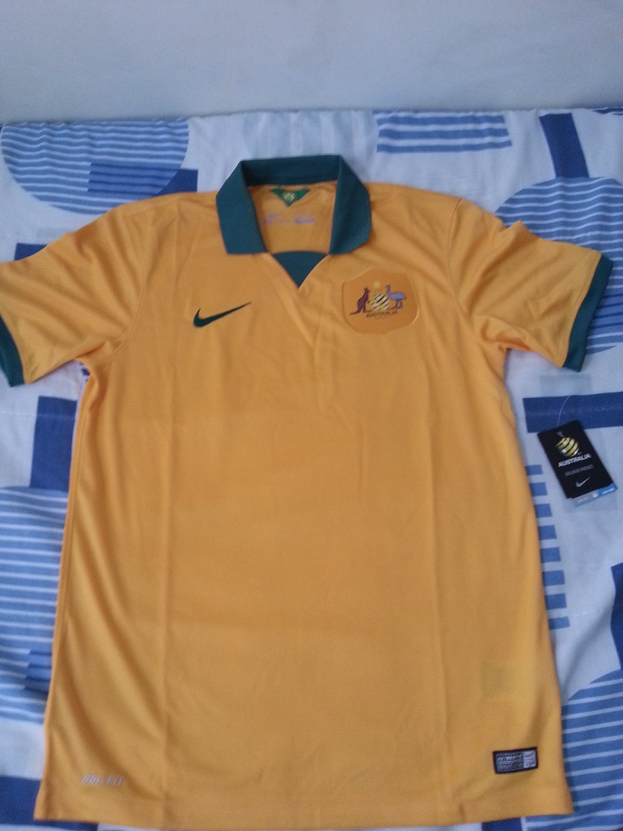 e4962abd5941e Camisa Nike Austrália Home 2014 2015 Tam  M Pronta Entrega - R  89 ...