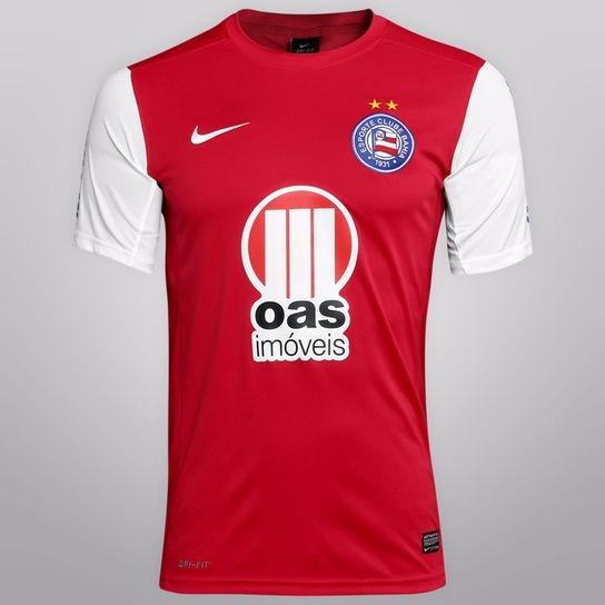 4522f64322385 Camisa Nike Bahia Away Temporada 2012 13 Nova Ler Descrição - R  40 ...