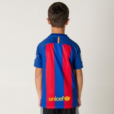 a43739462cd37 Camisa Nike Barcelona 1 2016 2017 - Infantil Tam. M - G - Gg - R ...