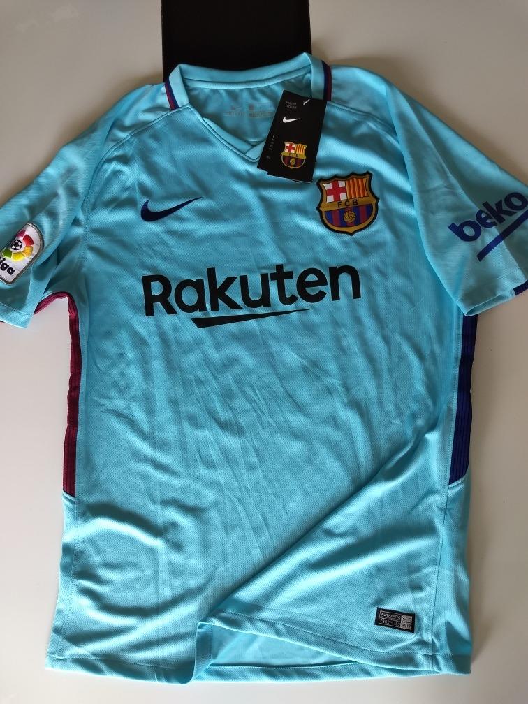 Camisa Nike Barcelona 2 2017 2018 Messi - R  180 82b0c17417799