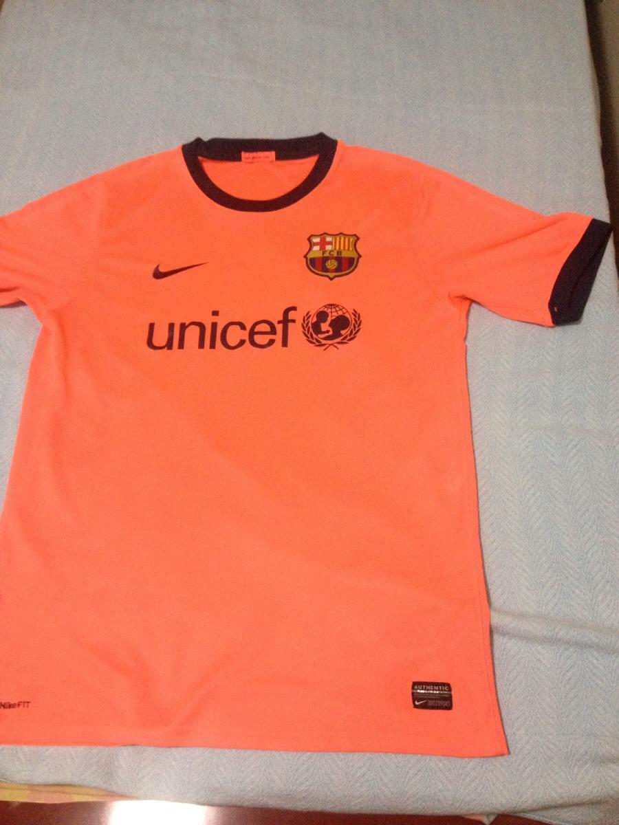 742d242873 camisa nike barcelona away 09 10 g laranja original. Carregando zoom.