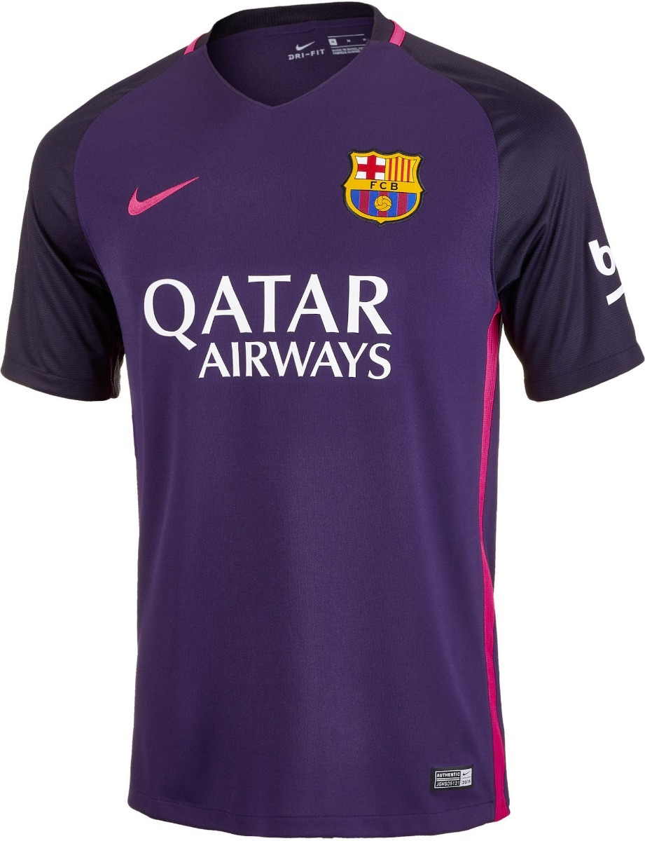 camisa nike barcelona away 2016  2017 torcedor 2bros. Carregando zoom. 35d6279fd8b5f