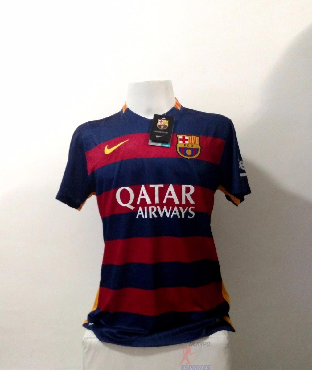 camisa nike barcelona home 15 16 - jogador - pronta entrega. Carregando  zoom. 2bbbb08fc171a