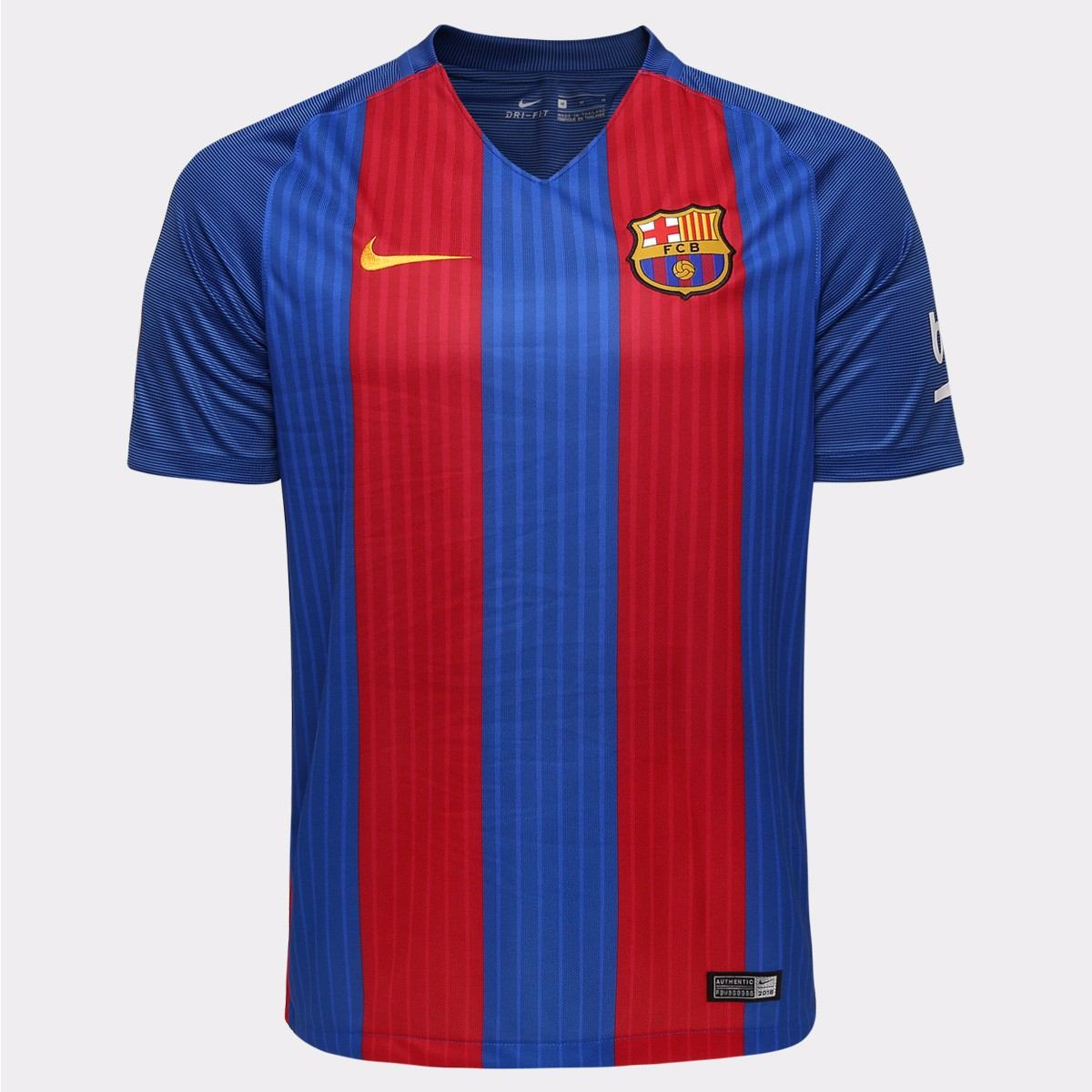Camisa Nike Barcelona Home 16 17 - Easy Shopping - R  136 e5fbf28bf48a0